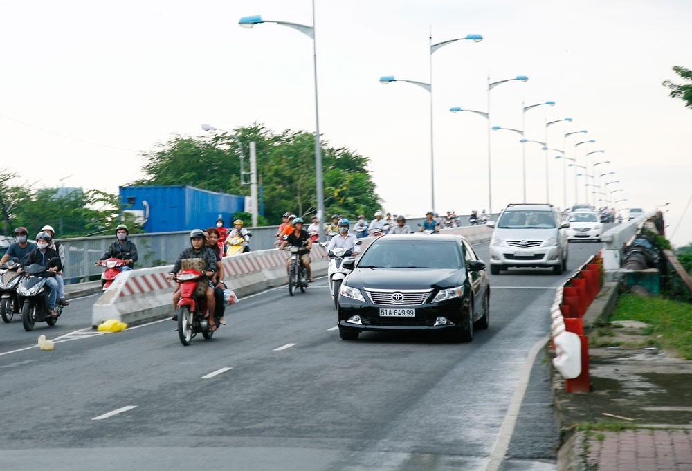 Theo Thanh tra Chính phủ, nhà đầu tư Dự án BOT Cầu, đường Bình Triệu II đã thu vượt phương án tài chính được lập nhưng chưa được cơ quan nhà nước phê duyệt hơn 13 tỷ đồng. Ảnh: Đinh Tuấn