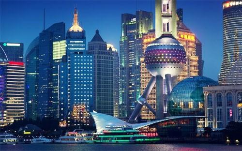 Thành phố Thượng Hải của Trung Quốc.