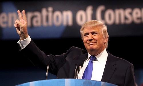 Tổng thống Mỹ Donald Trump. Ảnh:Nation.