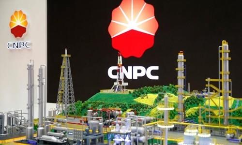 Biểu tượng Tập đoàn Dầu khí Quốc gia Trung Quốc. Ảnh:Reuters.