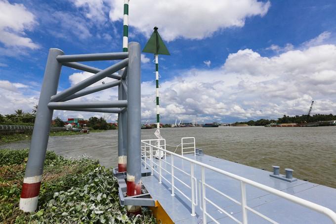Hai bến tàu buýt sông đầu tiên ở TP HCM dần hình thành - ảnh 6
