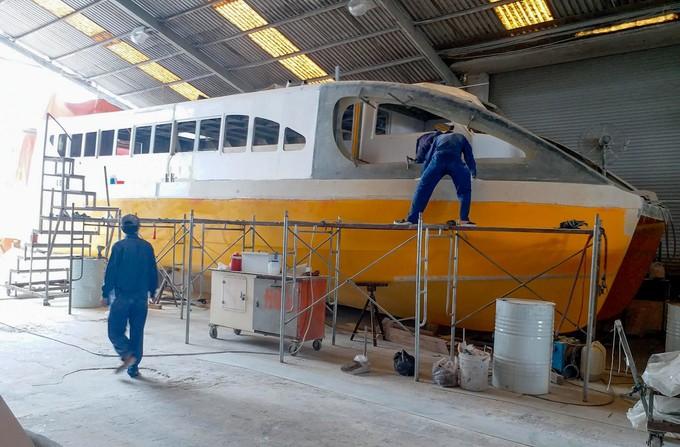 Hai bến tàu buýt sông đầu tiên ở TP HCM dần hình thành - ảnh 9