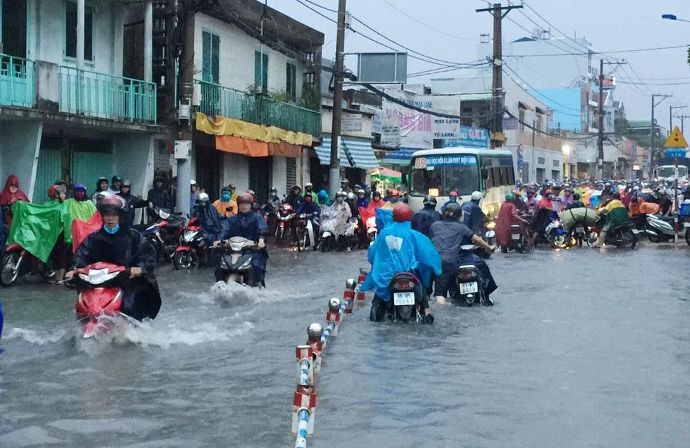 Công ty CP Công trình giao thông Sài Gòn đã trúng 5 gói thầu với tổng giá trị hơn 171 tỷ đồng của Trung tâm Điều hành chương trình chống ngập nước TP.HCM. Ảnh: Đinh Tuấn