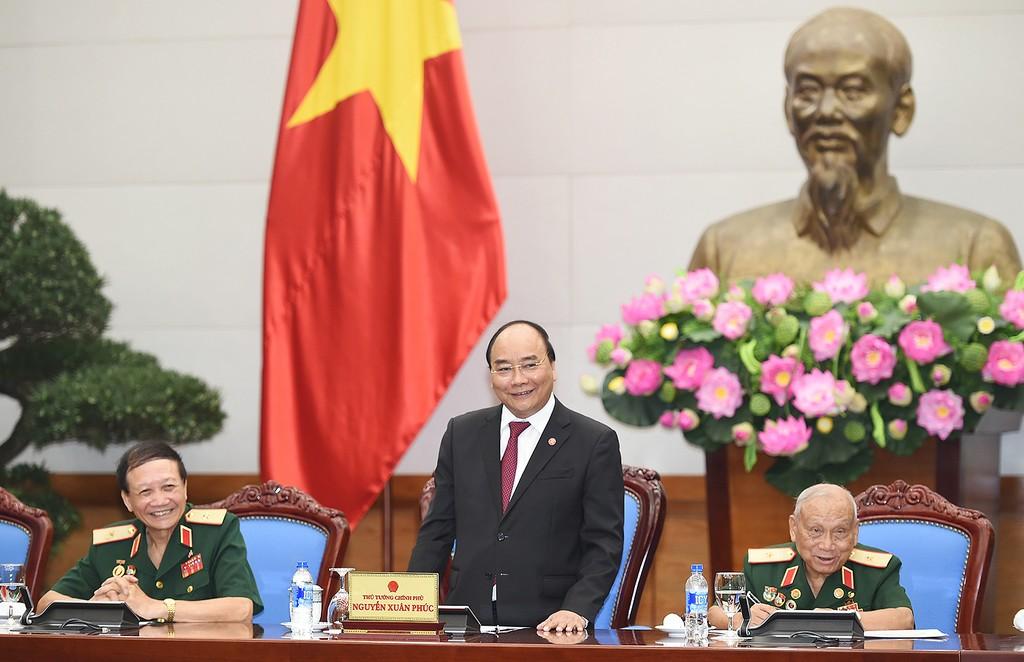 Thủ tướng gặp mặt Hội truyền thống Trường Sơn-Đường Hồ Chí Minh - ảnh 1