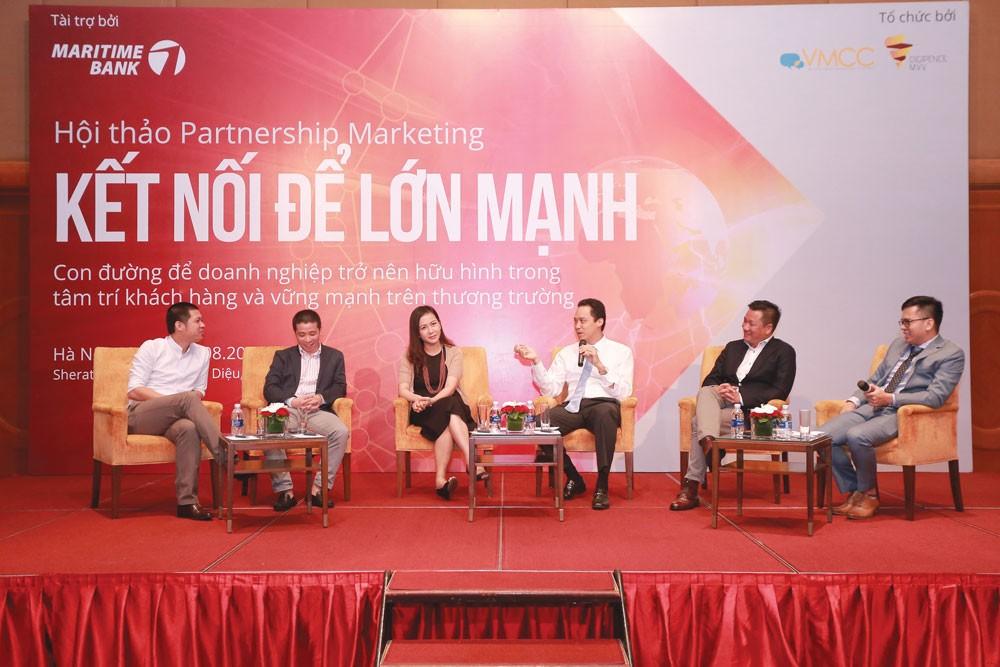 """Hội thảo """"Kết nối để lớn mạnh"""" được tổ chức bởi ngân hàng Maritime Bank trong tháng 8 vừa qua"""