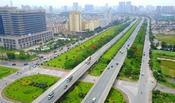 Năm tuyến đường hơn tỷ USD hiện đại nhất Thủ đô - ảnh 1