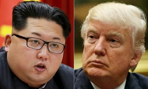 Nhà lãnh đạo Triều Tiên Kim Jong-un (trái) và Tổng thống Mỹ Donald Trump. Ảnh:Reuters/AP.