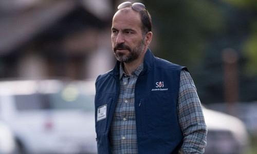Dara Khosrowshahi là CEO mới của Uber. Ảnh:Reuters