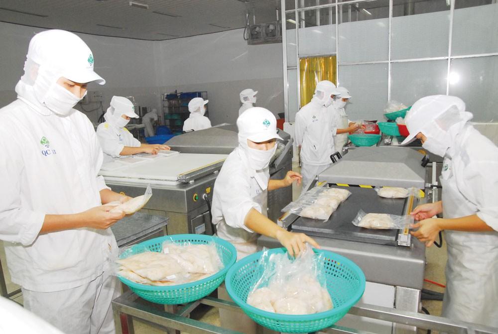 Trong năm 2016, chỉ riêng mặt hàng cá, tôm, cua của Việt Nam đã xuất khẩu vào thị trường Mỹ 1,4 tỷ USD. Ảnh: Nhã Chi
