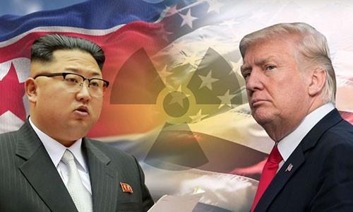 Trung Quốc cảnh báo khi lãnh đạo Mỹ và Triều Tiên liên tiếp công kích nhau. Ảnh minh hoạ:News.sky.