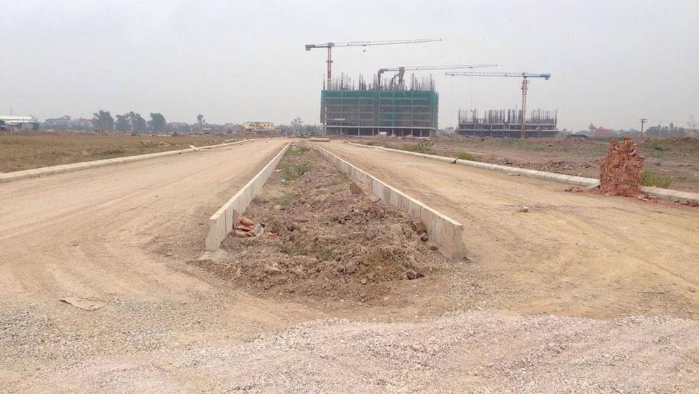 Trần Hồng Việt đã đề nghị khách hàng ký hợp đồng hợp tác đầu tư, góp vốn, đặt cọc mua các lô đất tại Dự án Khu đô thị Thanh Hà để lừa đảo, chiếm đoạt tài sản. Ảnh: Thành Hải
