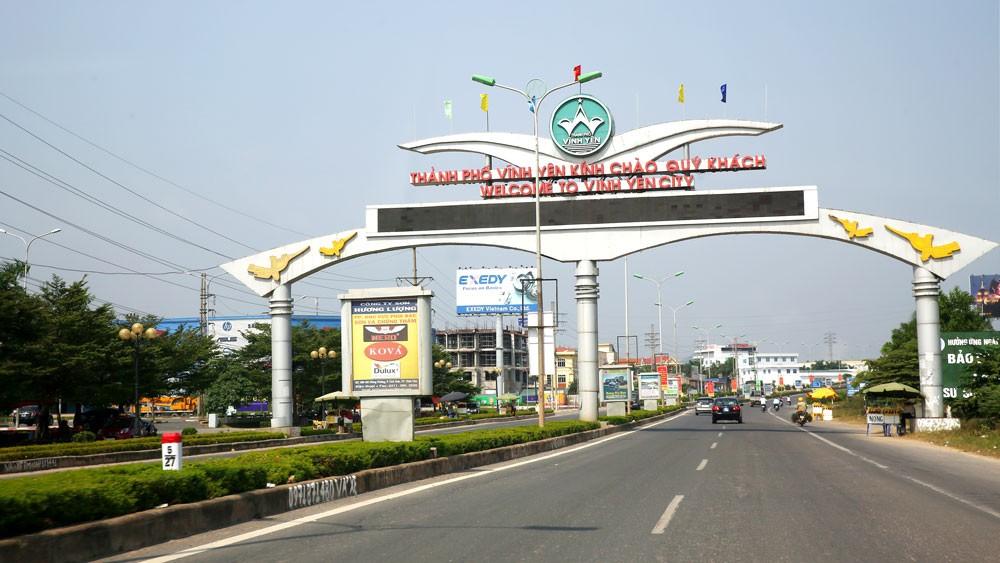 """FDI đã góp phần quan trọng tạo nên bước chuyển rõ rệt trong phát triển kinh tế - xã hội của tỉnh Vĩnh Phúc, từng bước định vị """"thương hiệu"""" của địa phương này trên bản đồ thu hút đầu tư ở nước ta. Ảnh: Lê Tiên"""