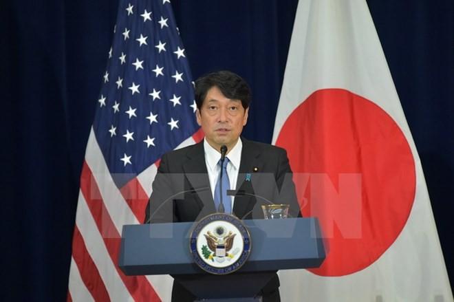 Bộ trưởng Quốc phòng Nhật Bản Itsunori Onodera. (Ảnh: AFP/TTXVN)