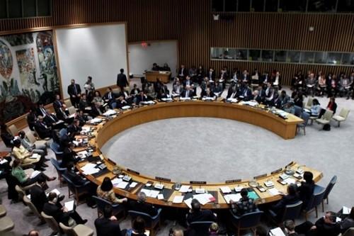 Một phiên họp tại Hội đồng Bảo an Liên Hợp Quốc. Ảnh:Reuters.