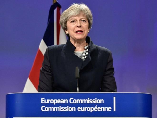 Thủ tướng Anh Theresa May. (Nguồn: AFP)