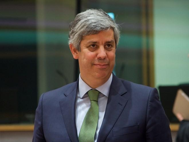 Bộ trưởng Tài chính Bồ Đào Nha Mario Centeno. (Nguồn: Hội đồng châu Âu)