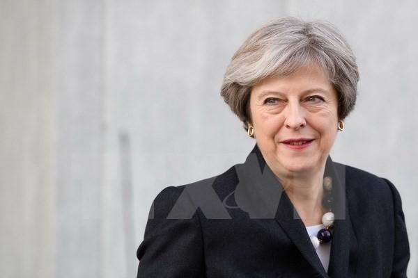 Thủ tướng Anh Theresa May tại thủ đô London ngày 16/11. (Nguồn: AFP/TTXVN)