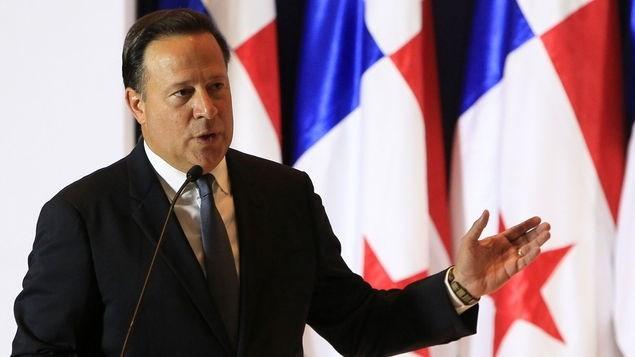 Tổng thống Juan Carlos Varela. (Nguồn: panamatoday.com)
