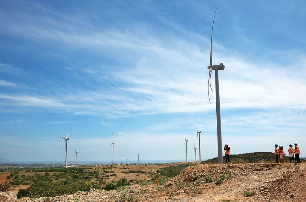 Các dự án xanh thường có tổng mức đầu tư lớn, thời gian hoàn vốn dài. Ảnh: Lê Tiên