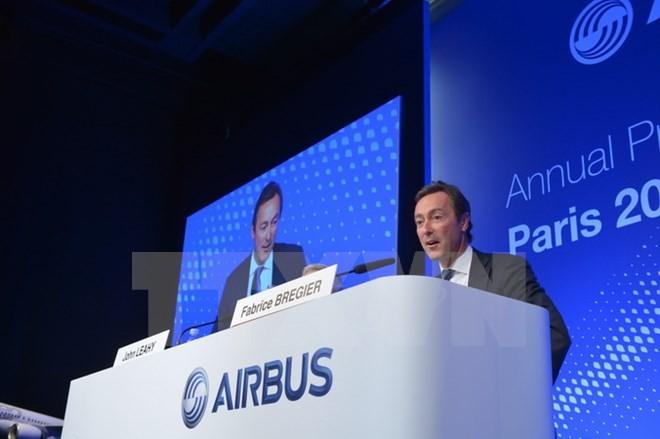 Tổng Giám đốc Airbus Fabrice Bregier. (Ảnh: AFP/TTXVN)