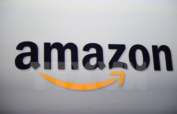 Biểu tượng Amazon. (Nguồn: AFP/TTXVN)