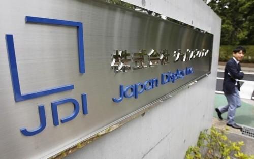 Biển tên của Japan Display tại Chiba (Nhật Bản). Ảnh:Reuters