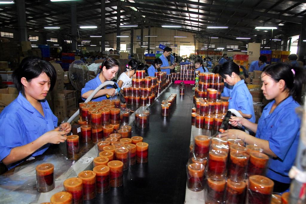 Khối DNNVV hiện chiếm khoảng 98% tổng số DN Việt Nam và có vai trò quan trọng đối với phát triển kinh tế đất nước. Ảnh: Hoài Tâm