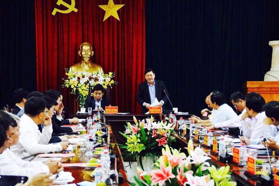 Bộ trưởng Bộ Kế hoạch và Đầu tư Nguyễn Chí Dũng làm việc tại tỉnh Vĩnh Long - ảnh 1
