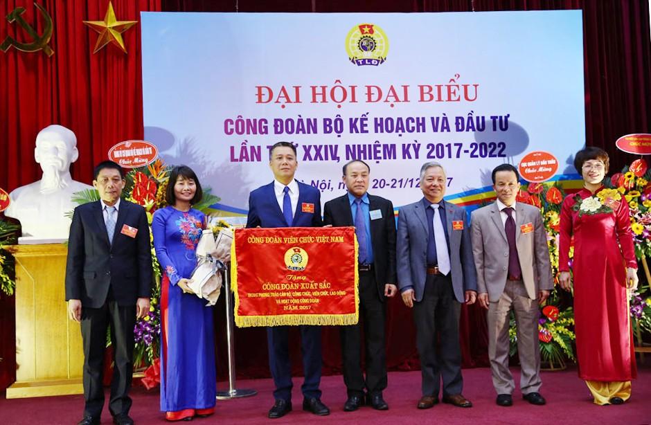 Công đoàn Bộ KH&ĐT tổ chức thành công Đại hội đại biểu nhiệm kỳ 2017 - 2022 - ảnh 3