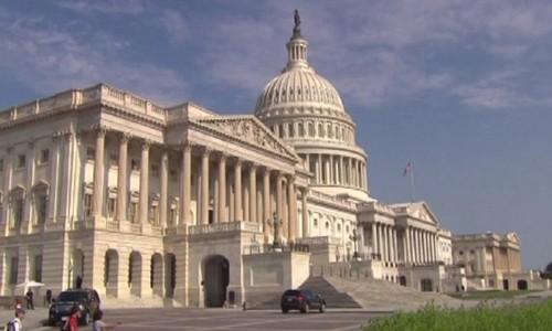 Tòa nhà quốc hội Mỹ. Ảnh:Fox 6.