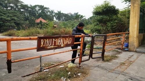 Gần 17.000 m2 đất vàng ở trung tâm thành phố bị bỏ hoang nhiều năm qua. Ảnh:Giang Chinh