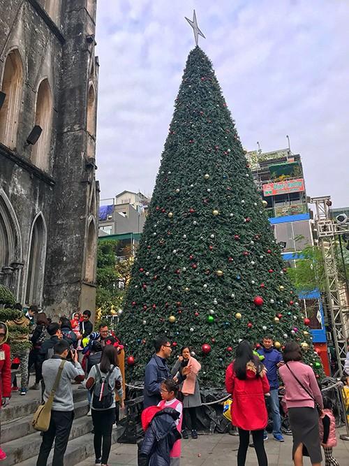 Nhà thờ Lớn Hà Nội trang hoàng chào đón Giáng sinh - ảnh 2
