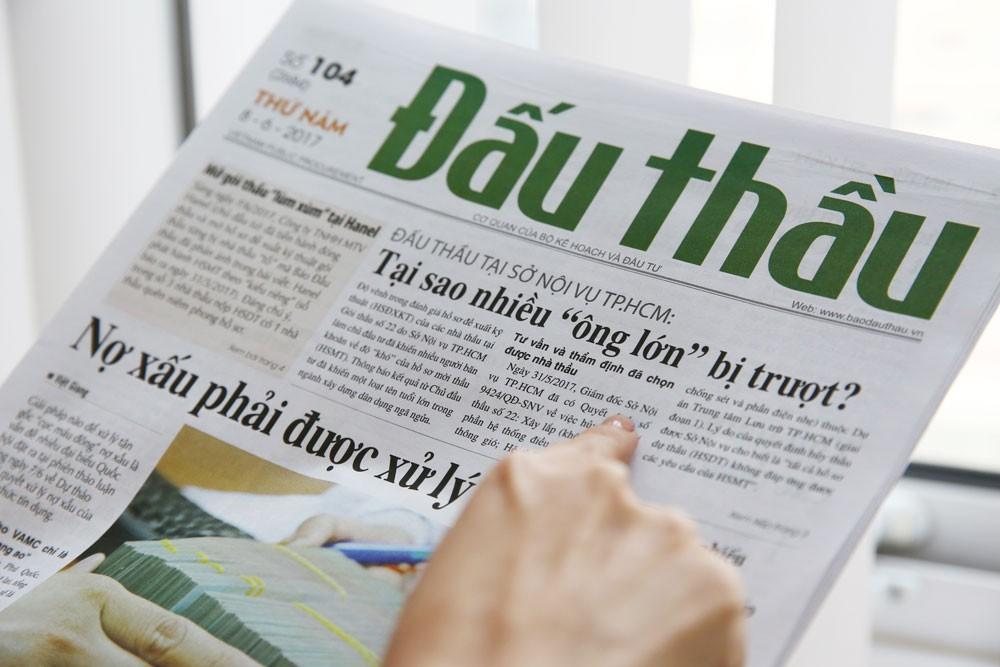Báo Đấu thầu đã từng có bài phản ánh về quá trình đấu thầu gây nhiều tranh cãi tại Gói thầu Xây lắp thuộc Dự án Trung tâm Lưu trữ TP.HCM. Ảnh: Nhã Chi