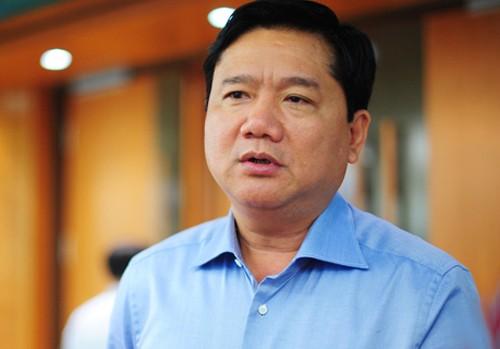 Ông Đinh La Thăng sau khi rời PVN đã làm Bộ trưởng Giao thông Vận tải, Bí thư Thành uỷ TP HCM.Ảnh: Xuân Hoa