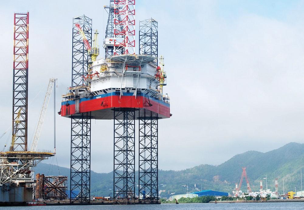 Tại thời điểm cuối quý II/2017, tổng nợ phải trả của PV Shipyard là 1.420 tỷ đồng, chiếm 99% tổng tài sản của Công ty. Ảnh: Hoàng Hà