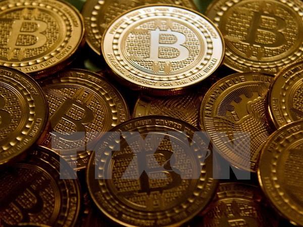 Đồng bitcoin tại Washington, DC ngày 1/5/2014. (Nguồn: AFP/TTXVN)