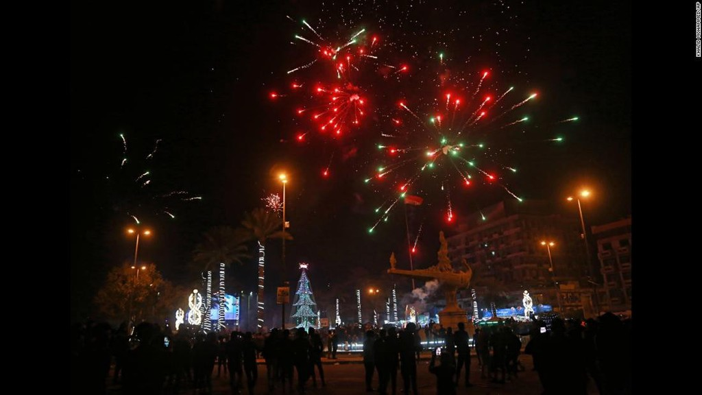 Thế giới đón năm mới 2018 - ảnh 9