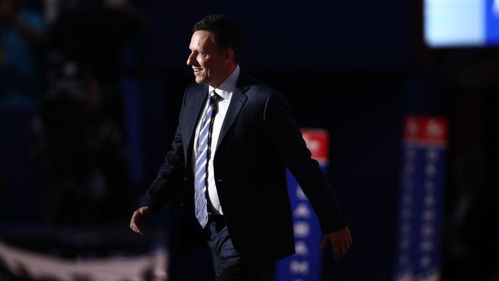 Tỷ phú, nhà đầu tư mạo hiểm Peter Thiel - Ảnh: Bloomberg.