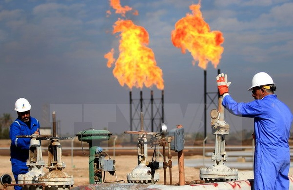 Cơ sở lọc dầu Bin Omar tại Basra, Iraq. (Nguồn: AFP/TTXVN)