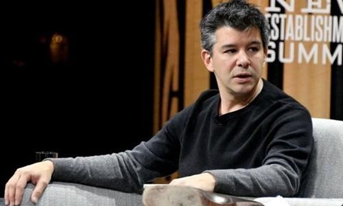 CEO Uber - Travis Kalanick có thể tạm rời công ty. Ảnh:AFP.