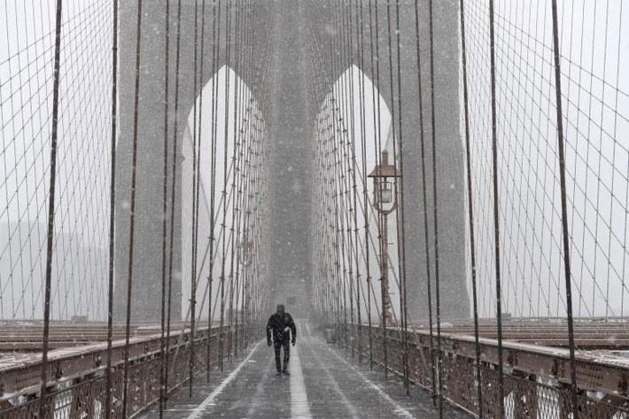 Nhiều thành phố Mỹ tê liệt vì siêu bão tuyết - ảnh 2