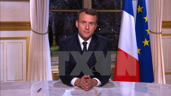 Tổng thống Pháp Emmanuel Macron. (Nguồn: AFP/TTXVN)