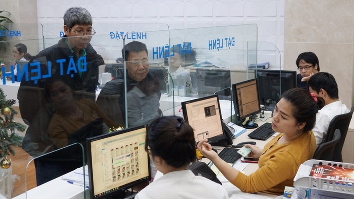 Một phòng giao dịch tại BVSC - Ảnh: Quang Phúc.