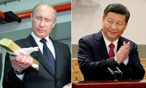 Nga, Trung Quốc tích cực tăng dự trữ vàng trong những năm gần đây. Ảnh:RT