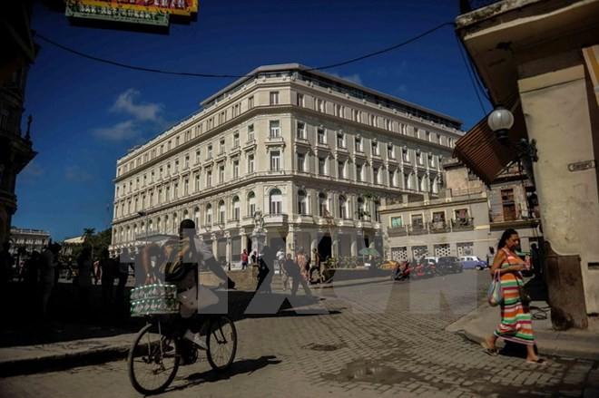 Một góc đường phố ở thủ đô La Habana, Cuba. (Nguồn: AFP/TTXVN)