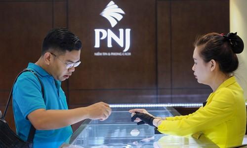 Giá vàng ngày 11/1 tăng theo thế giới. Ảnh:Thành Nguyễn.