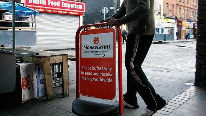 MoneyGram là công ty chuyển tiền hàng đầu của Mỹ - Ảnh: Getty/CNBC.