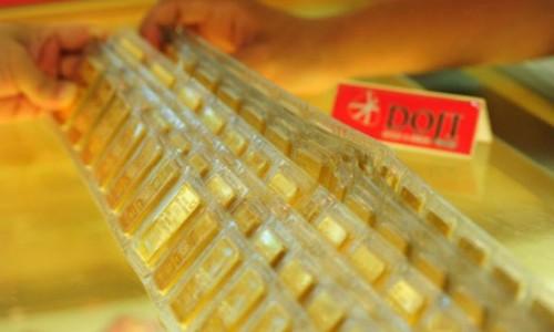 Giá vàng trong nước tăng vài chục nghìn đồng mỗi lượng sáng nay. Ảnh:PV.