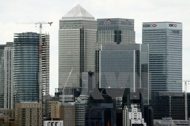 Trung tâm tài chính London. (Nguồn: AFP/TTXVN)