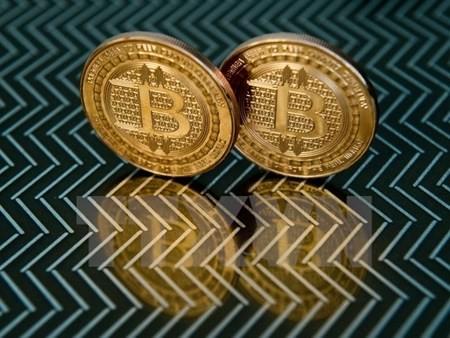 Đồng bitcoin tại Washington, Mỹ. (Nguồn: AFP/TTXVN)